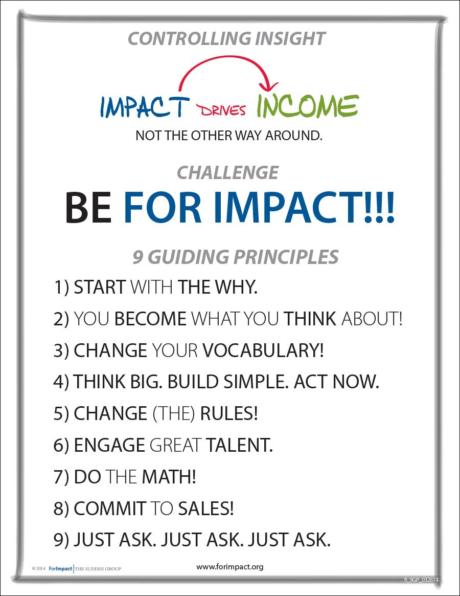 For Impact 9 Guiding Principles